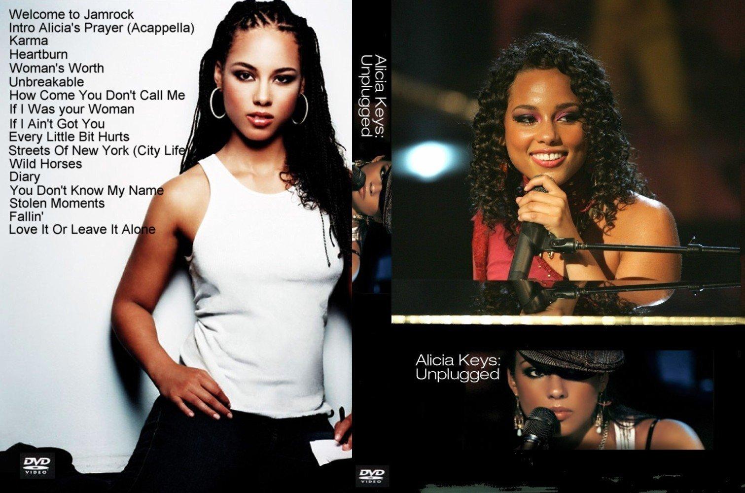 Alicia Keys Unplugged | Capas e Covers Gratis.