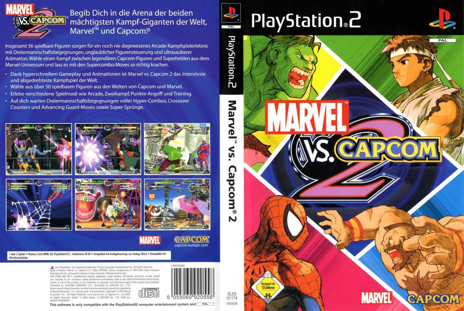 Marvel Vs Capcom Ps2 Rom Download
