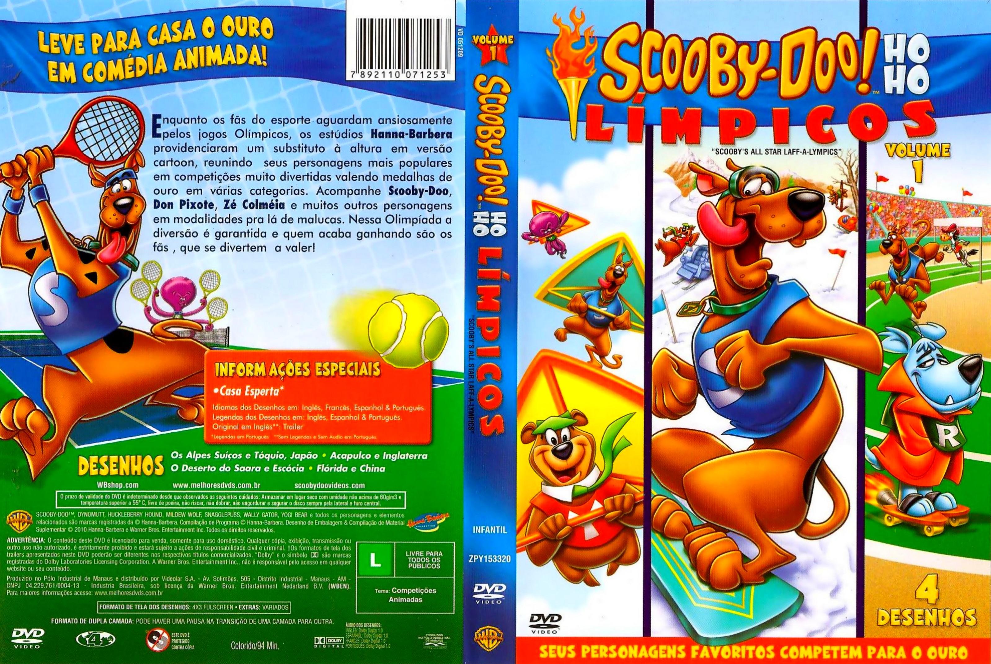 Scooby Doo Ho Ho Limpicos Volume 1 Capas E Covers Gratis