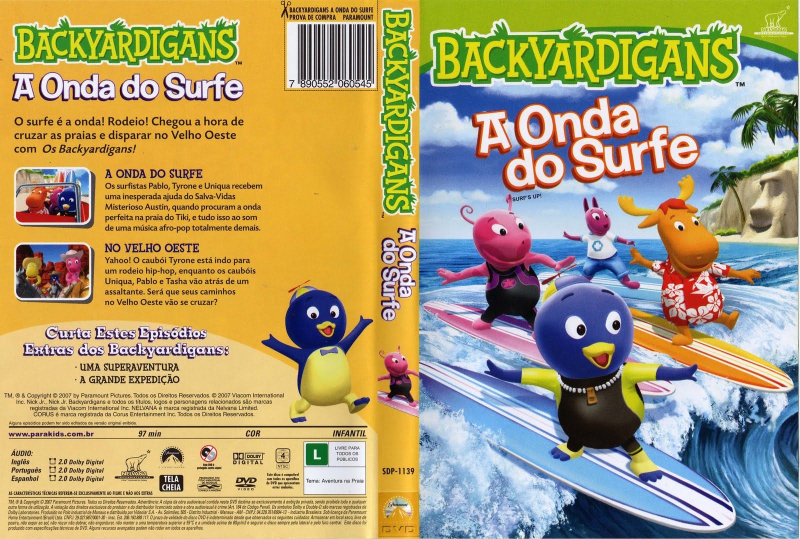 Backyardigans A Onda do Surf PT-BR Backyardigans-aondadosurfe