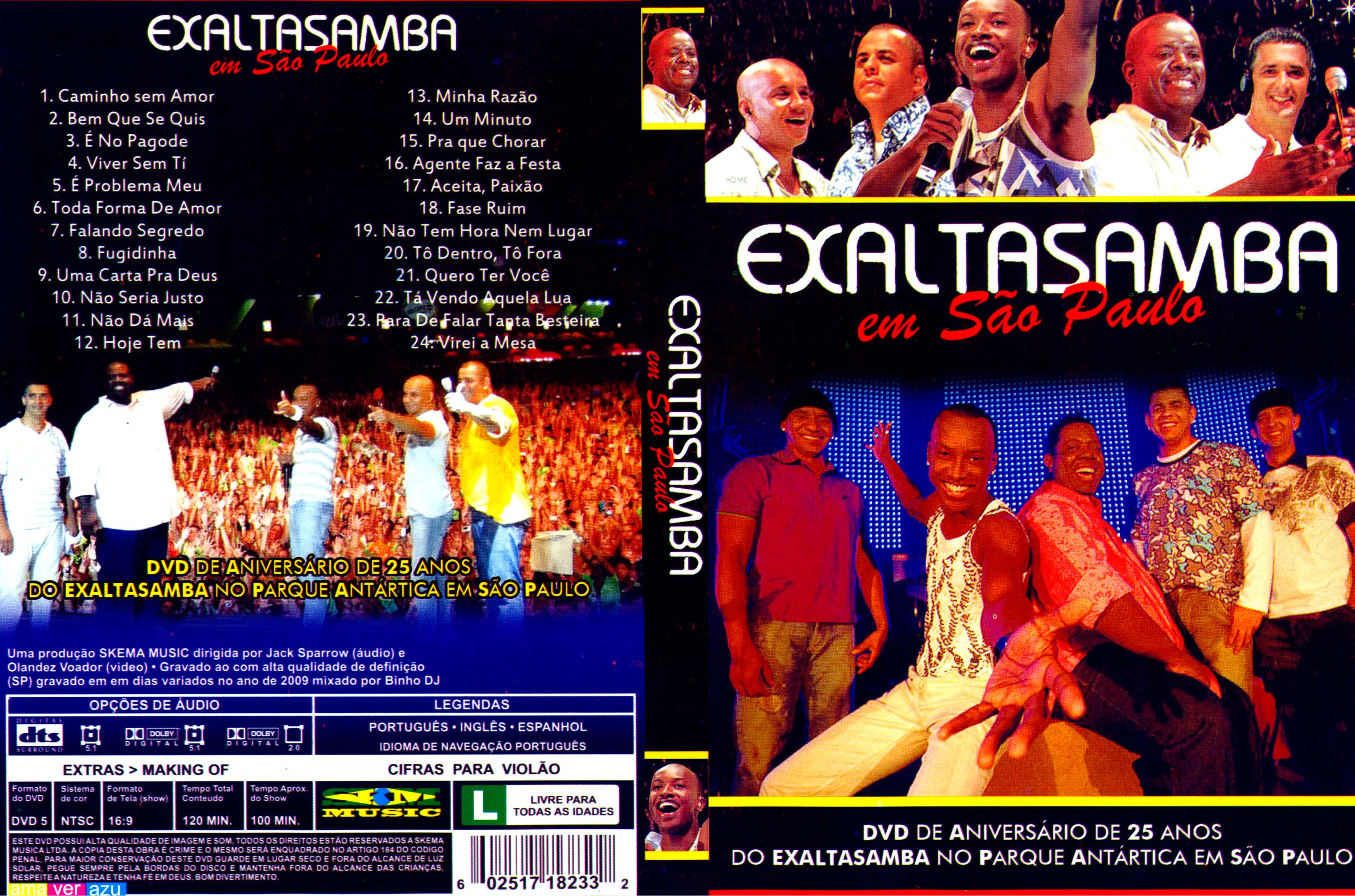 dvd do exaltasamba 2010