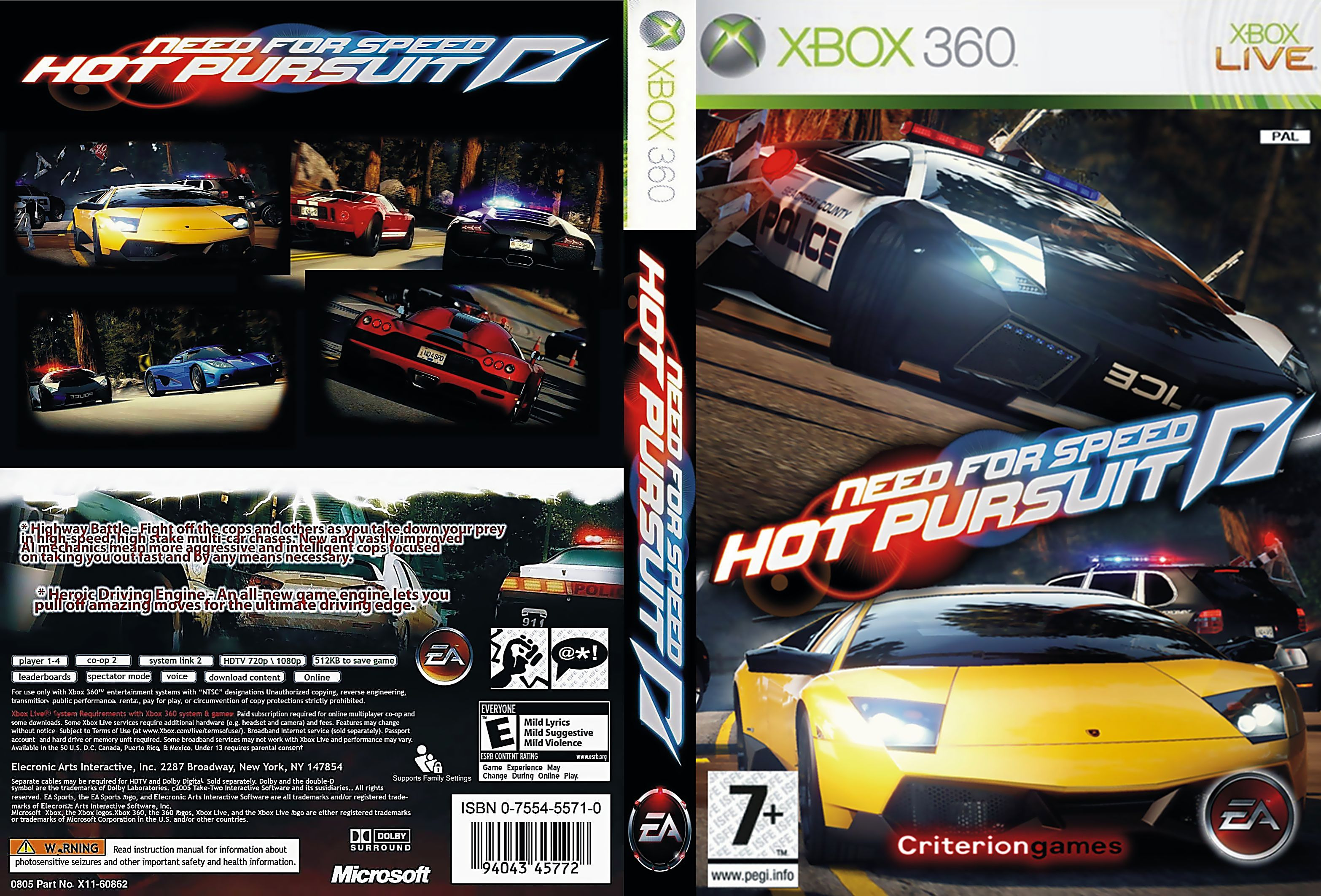 need for speed hot pursuit 2 xbox