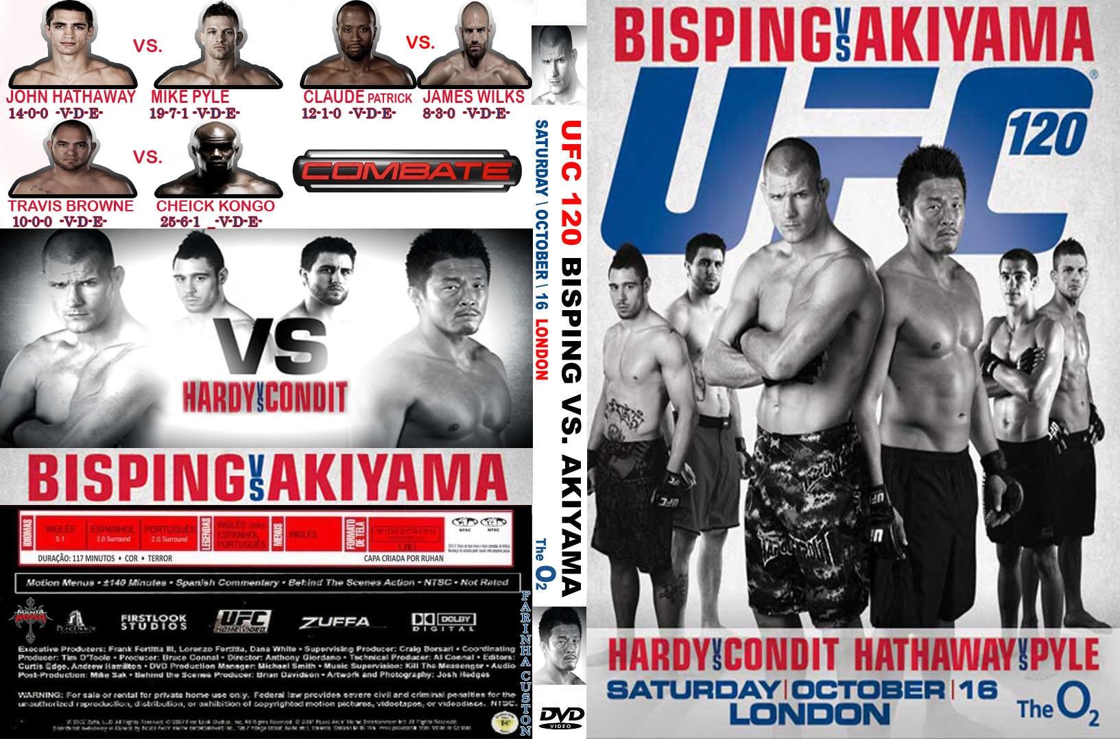 UFC 120   Capas e Covers Grati...