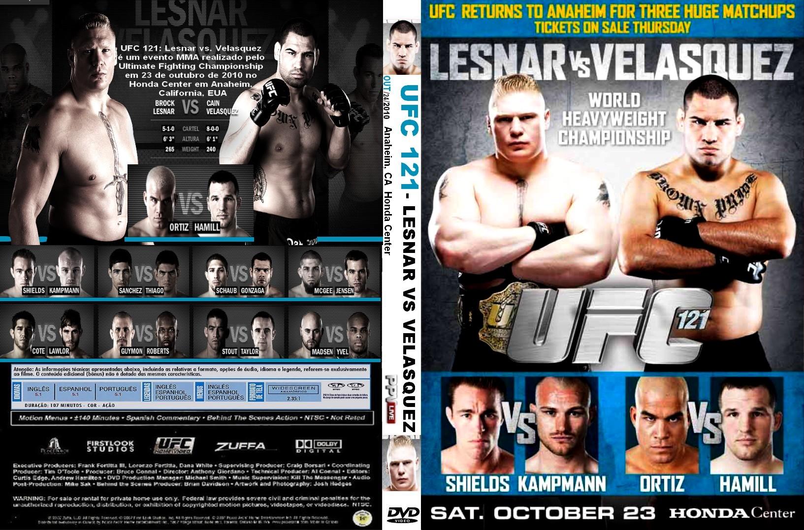 UFC 121   Capas e Covers Grati...
