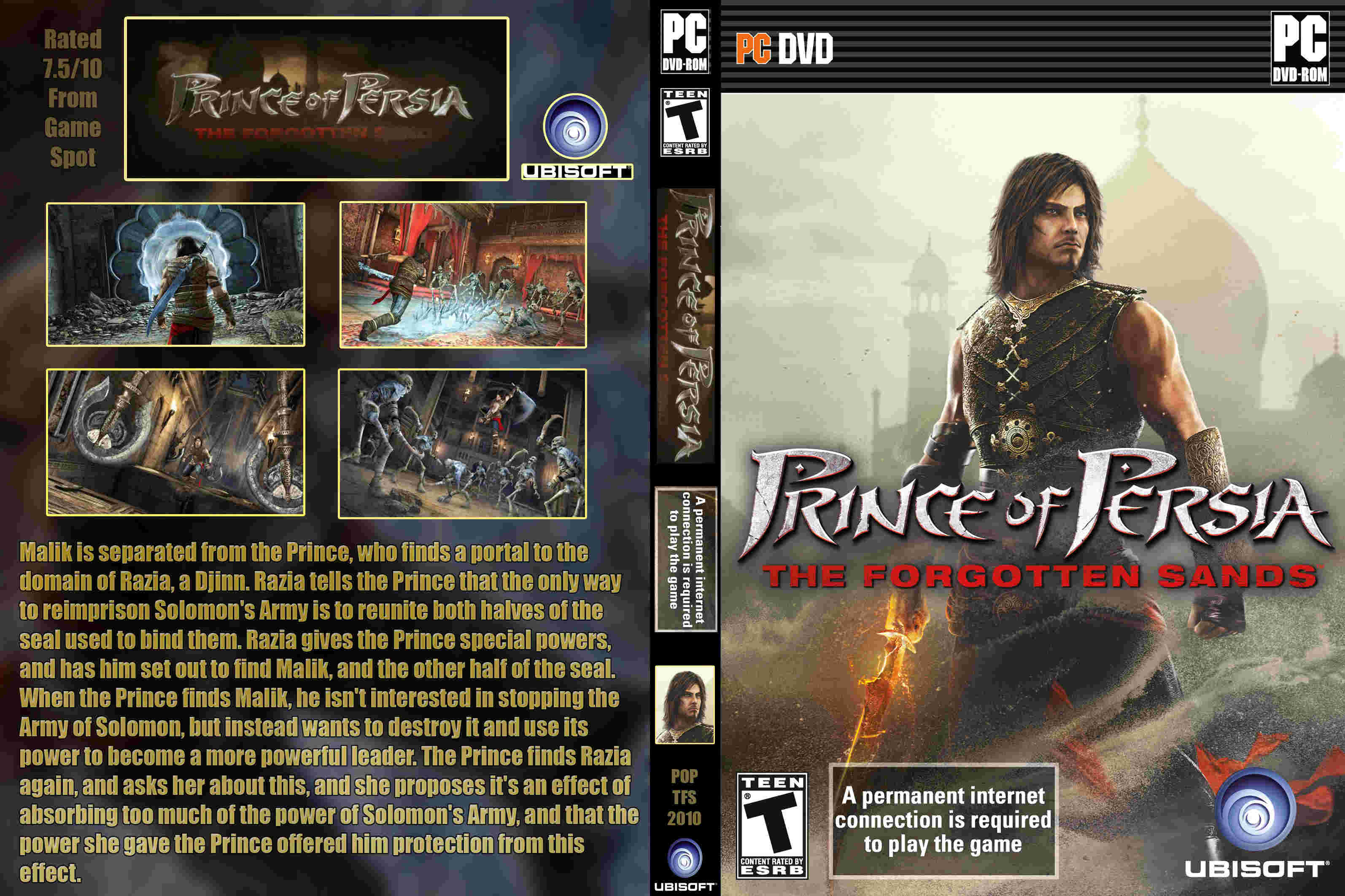 Prince Of Persia The Forgotten Sands Ps3 Pc prince of persia the