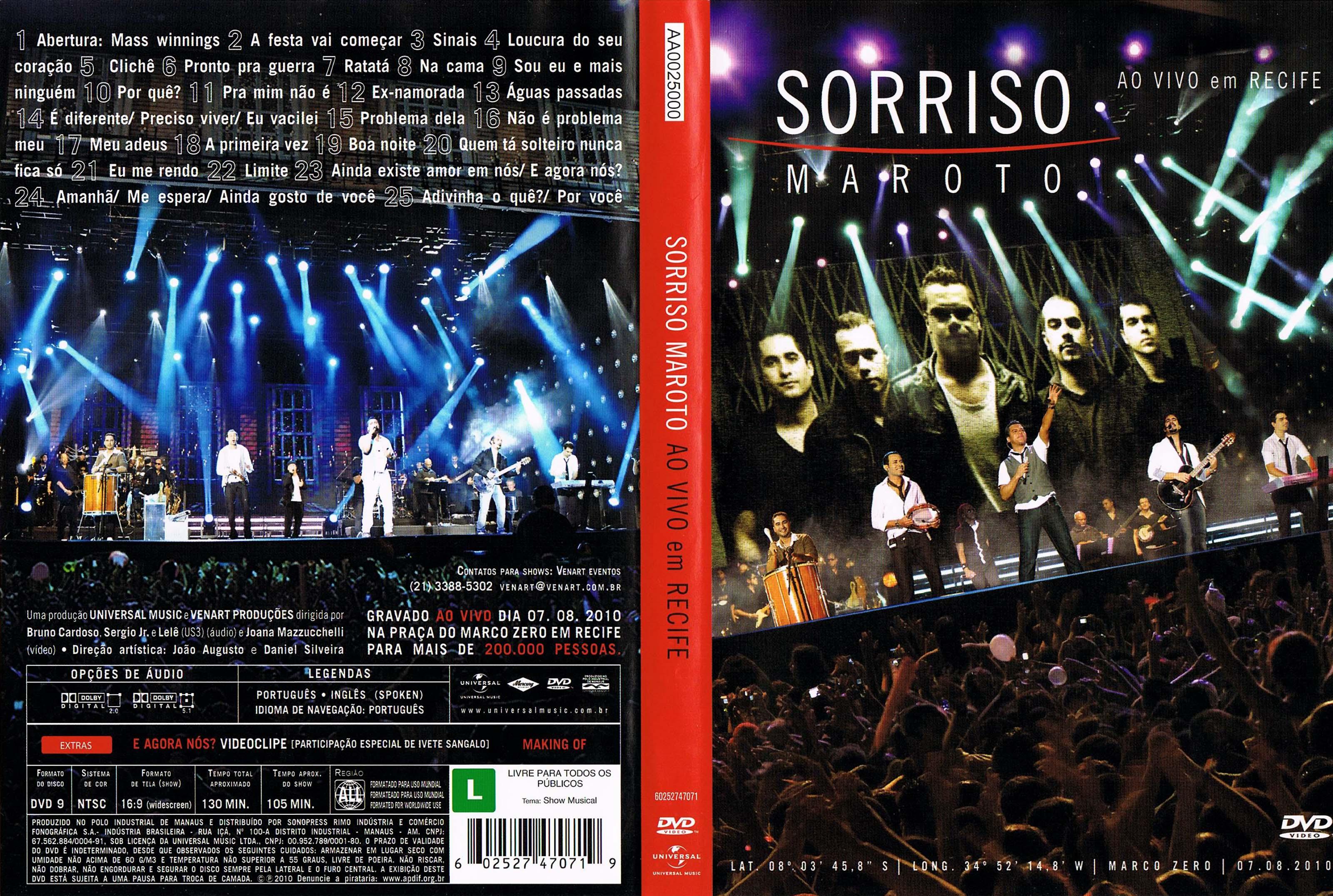 cd sorriso maroto 2011