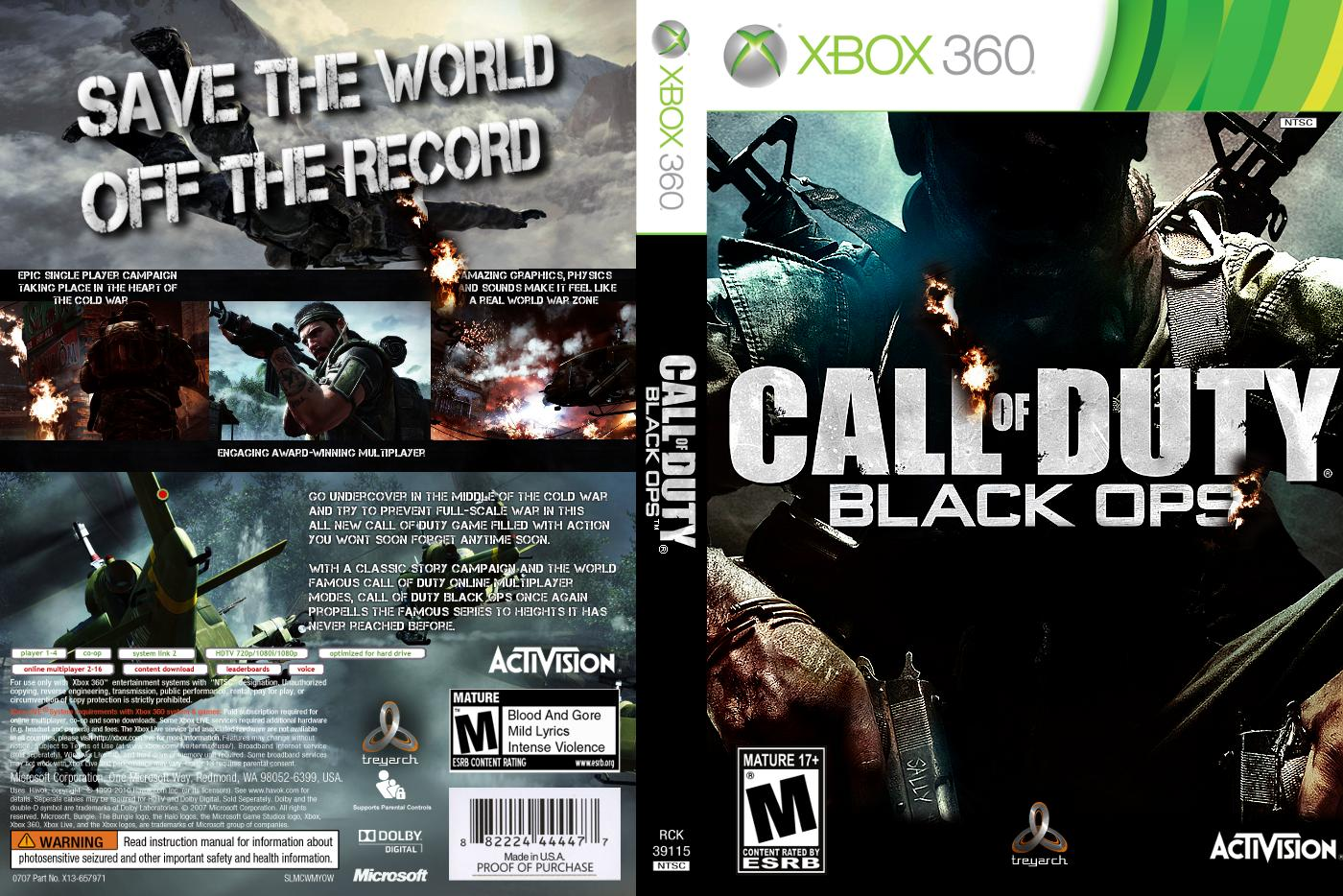 of cover black ops Call duty