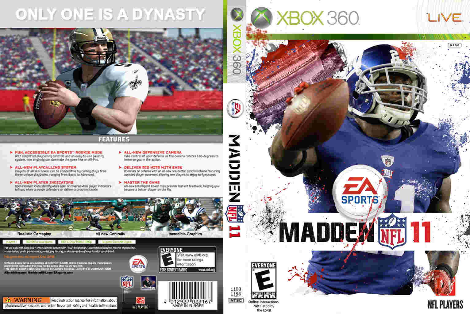 Xbox One Madden Cover Template – HD Wallpapers