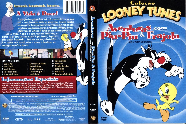 Looney Tunes Aventuras Com Piu Piu Frajola Capas E Covers